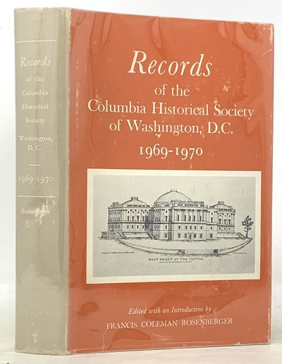 Washington DC: Published by the Society, 1971. 1st edition. Presentation copy. Blue green cloth with...