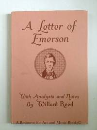 LETTER OF EMERSON, A