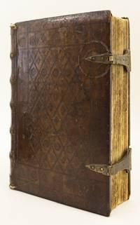 SERMONES POMERII DE SANCTIS HYEMALES ET ESTIVALES. [with] STELLARIUM CORONE BENEDICTE VIRGINIS MARIE by PELBARTUS DE THEMESWAR - 8 August 1509