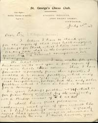 Letter to Fritz Englund