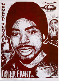 [POLICE BRUTALITY] Small Archive of Materials Protesting Police Shooting of Oscar Grant, An African American Man Killed While Handcuffed on a Subway Platform in Oakland, California, 2009