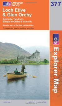 image of Loch Etive and Glen Orchy (OS Explorer Map Series)