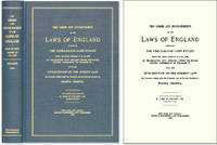 The Germs and Developments of the Laws of England: Embracing the..