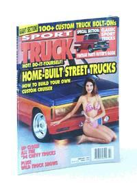 Sport Truck Magazine, February [Feb.] 1994: Home-Built Street Trucks / Michelle Thomas Cover Photo