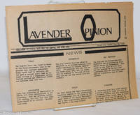 image of Lavender Opinion: vol. 1, #4, May 1974