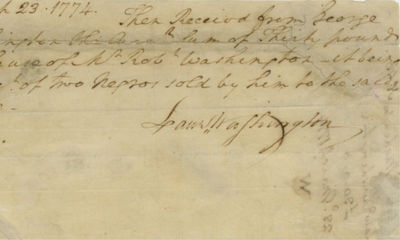 23/03/1774. This represents his final such purchase before the convening of the First Continental Co...