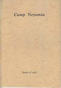 image of Camp Neyomia - A Summer Recreation Camp for Boys on Lake Pleasance, Theresa, New York.  Season of 1928