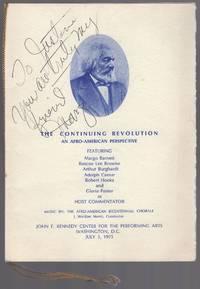 (Program): The Continuing Revolution: An Afro-American Perspective Featuring Margo Barnett, Roscoe Lee Browne, Arthur Burghardt, Adolph Caesar, Robert Hooks and Gloria Foster
