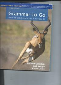 Grammar to Go - How It works and How to Use It - AIE