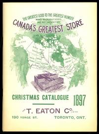 image of CHRISTMAS CATALOGUE 1897.  THE T. EATON CO. LIMITED.