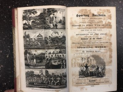 London: Sherwood, Neely, and Jones, 1820. Hardcover. 10mo., 497 pages, 3 ads; VG; bound in 3/4 burgu...