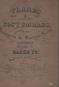 image of TRAGES Y COSTUMBRES, de la Provincia de Buenos-Aires. Cuadenrno 4