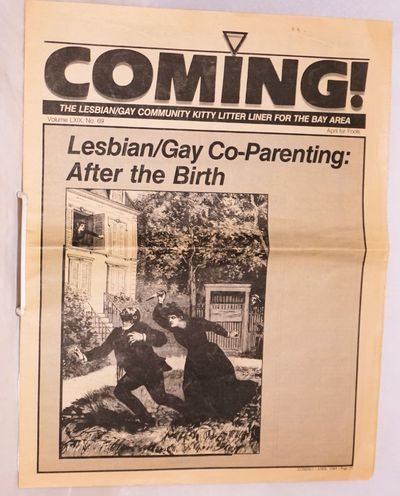 San Francisco: , 1985. April Fool's Day parody newspaper, apparently a supplement to