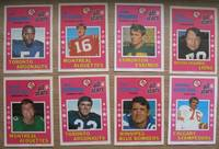 1971 O-PEE-CHEE CFL Poster Inserts (Canadain Football League) -(8 Posters of the 16 Poster set)- Herman Harrison; Bill Frank; Bill Symons; Steve Smear; Greg Findlay; John Wydareny; Al Phaneuf; Ed Harrington