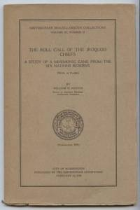 The Roll Call of the Iroquois Chiefs : A Study of a Mnemonic Cane from the  Six Nations Reserve (With Plates)