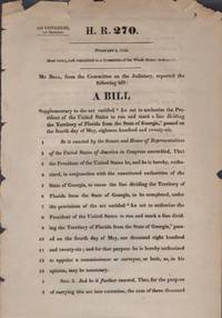 H. R. 270. February 4, 1834. Read twice, and committed to a Committee of the Whole House...