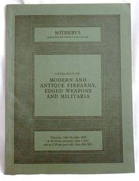 image of Modern and Antique Firearms,  Edged Weapons and Militaria.  Auction Catalogue
