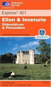 image of Ellon and Inverurie (OS Explorer Map Active)