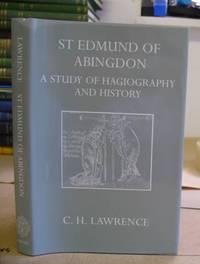 Saint [ St ] Edmund Of Abingdon - A  Study Of Hagiography And History