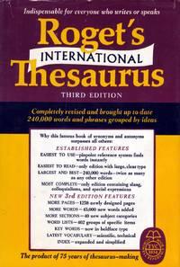 Roget's International Thesaurus (Thumb-Indexed)