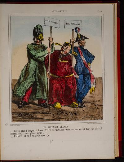 Paris: A. de Vresse Maison Martinet, 1862. A Fine French Album of Sixty-Six Caricatures Including Tw...
