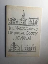 The Nassau County Historical Society Journal Cumulative Index 1958 1988