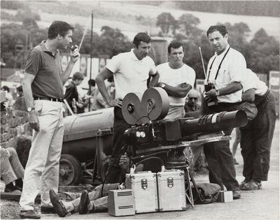 Beverly Hills, CA: Metro-Goldwyn-Mayer , 1966. Three vintage borderless photographs of director John...