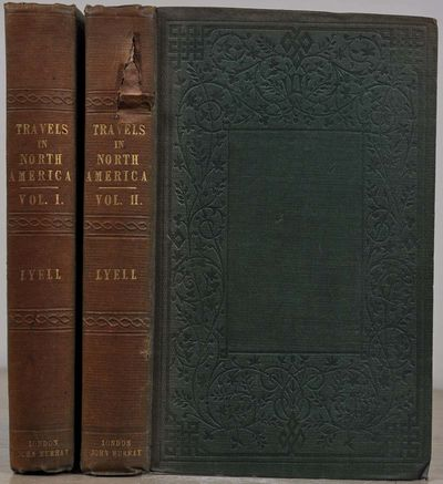 London: John Murray, 1845. Book. Very good- condition. Hardcover. First Edition. Octavo (8vo). Two v...