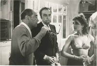 image of That Obscure Object of Desire [Cet Obscur Objet du Desir] (Original photograph of Luis Bunuel, Fernando Rey, and Angela Molina from the set of the 1977 film)