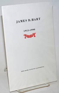 James D. Hart  1911 - 1990