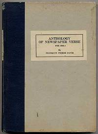 Anthology of Newspaper Verse for 1925: Seventh Annual Issue