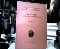 Bemerkungen zur Schrift vom Erhabnen. (= Sitzungsberichte der Heidelberger Akademie der...