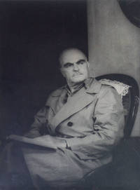 "Portrait photograph of Thornton Wilder ""as Mr. Antrobus in THE SKIN OF OUR TEETH"