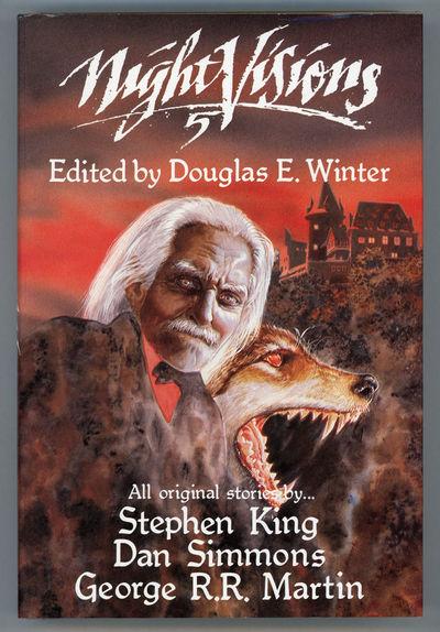 Arlington Hts., Illinois: Dark Harvest, 1988. Octavo, cloth. First edition. Original anthology with ...