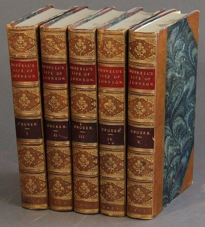London: John Murray, 1831. First Crocker edition, 5 volumes, 8vo, each volume with engraved frontisp...