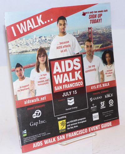 San Francisco: MZA Events, 2012. Magazine. 40p. includes covers, 10.25x11.5 inches, photos, maps, ev...