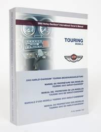 image of 2003 Harley-Davidson International Owner's Manual: Touring Models