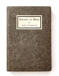 Sonnets to Duse [first edition, inscribed, with autograph material]