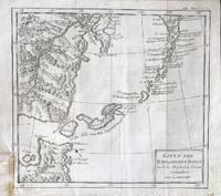 Karte Der Kurillischen Inseln nach der Russischen Karte Gezeichnet von Laurent.