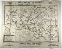 1927 Official Road Map, El Paso Auto Club
