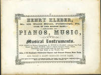 image of American Commercial Advertising - Henry Kleber, Pianos, Music, Instruments