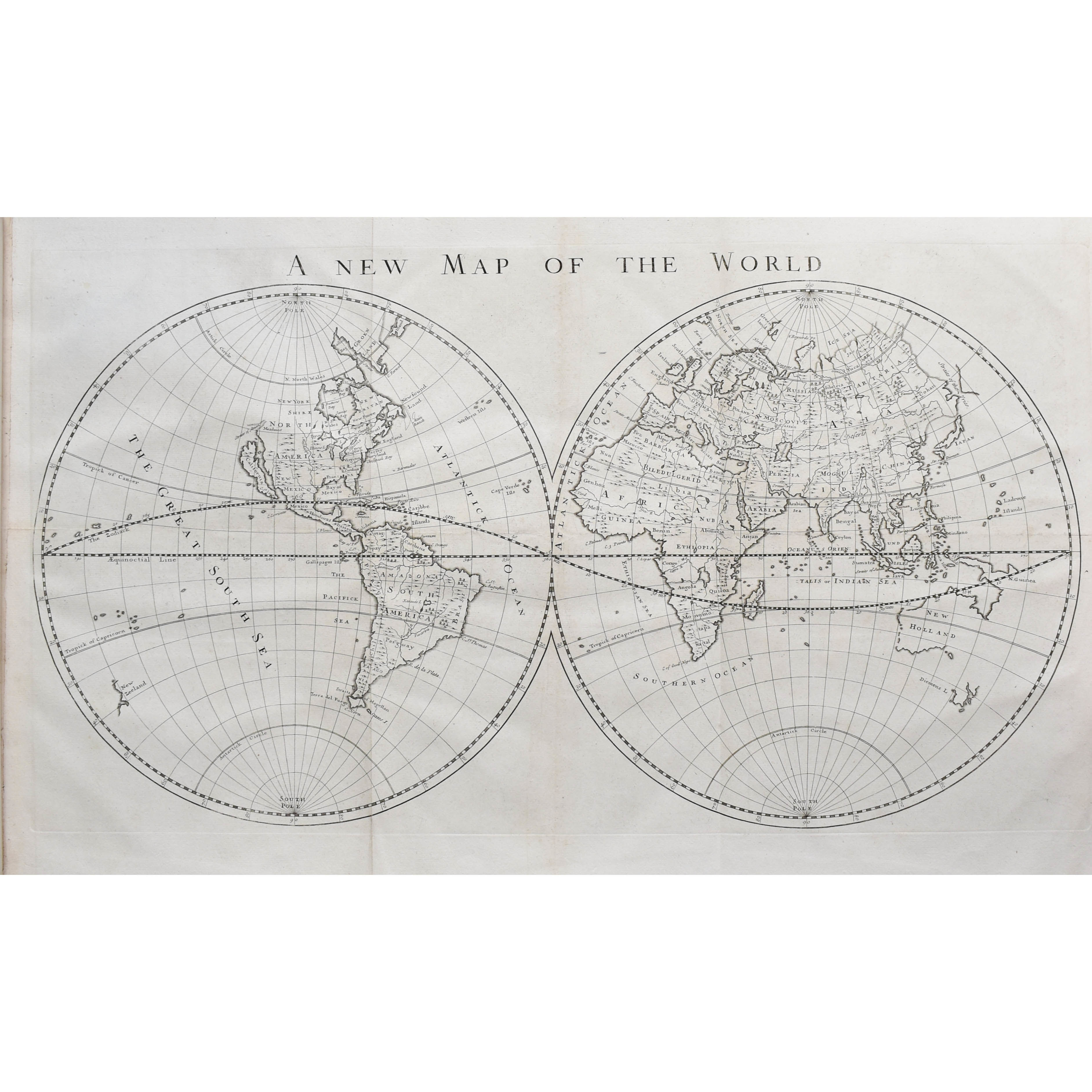 Cosmography, in Four Books. Containing the Chorography and History of the Whole World, and all the Principal Kingdoms, Provinces, Seas, and Isles thereof..., (photo 2)
