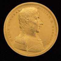 An American Treasure: William Henry Harrison's Original Congressional Gold Medal, Bestowed For His Role in Saving the American Northwest in the War of 1812 This medal was presented to Harrison by President James Monroe at a ceremony at the White House, then later passed on to President Benjamin Harrison and to his descendants, from whom we have just directly acquired it.