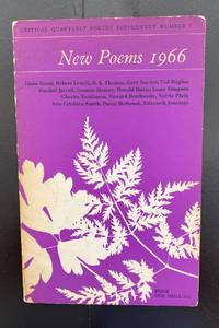 New Poems 1966. Critical Quarterly Poetry Supplement Number 7 : Signed By Seamus Heaney To His...
