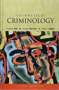 image of Theoretical Criminology