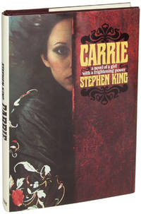 CARRIE by  Stephen King - First edition - 1974 - from John W. Knott, Jr., Bookseller, ABAA/ILAB and Biblio.com