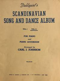 Dahlquist's Scandinavian Song and Dance Album No. 2 for Piano and Piano Accordion