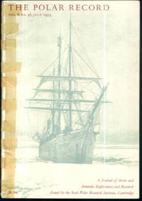 image of The Polar Record, Vol 6 No.46, July 1953