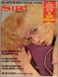 Sir! [men's magazine] - November 1966 - Volume 23, Number 1