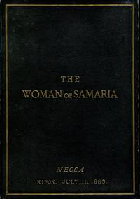 image of The Woman of Samaria : A Sacred Cantata (Signed By Officials)
